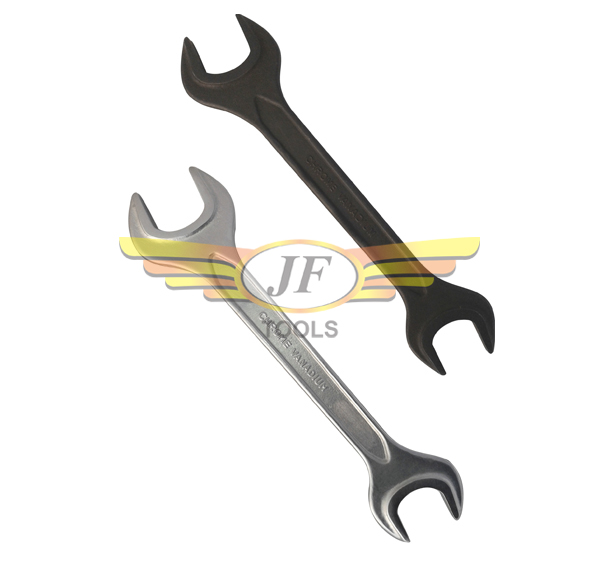 Double Open Ended Jaw Spanner – Double Collar